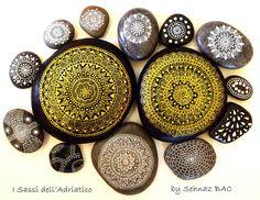 Mandala relax #paintedstones #isassidelladriatico