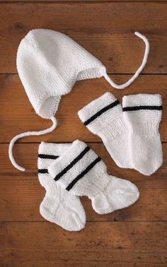 Novita Oy - Neulemalli: Vauvan myssy, lapaset ja sukat