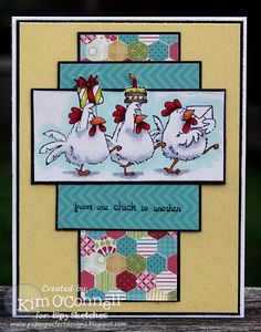 Paper Perfect Designs: ISSC23 - From One Chick to Another