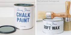 perfectly imperfect | how to wax furniture (an alternative to poly, particularly for chalk paint)