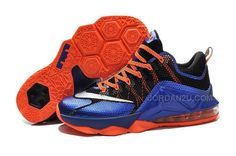 brand new b9a7e c10b7 Buy The Nike Lebron 12 2015 Low Blue Black Orange Mens Shoes In Hot Sale  from Reliable The Nike Lebron 12 2015 Low Blue Black Orange Mens Shoes In Hot  Sale ...