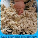 http://www.playlearneveryday.com/2014/11/oaty-snowman-sensory-play.html