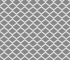 RickRack_grey fabric by walrus_studio on Spoonflower - custom fabric