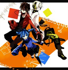 Shintaro, Ene, & Konoha | Kagerou Project