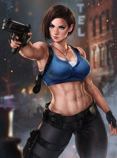 Resident Evil 3 Remake, Valentine Resident Evil, Resident Evil Girl, Jill Valentine, Video Games Girls, Games For Girls, Video Game Characters, Female Characters, Best Photo Poses