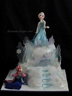 Frozen cake | Flickr - Photo Sharing!