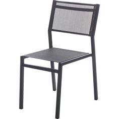 Chaise de jardin en aluminium Niagara gris | Jardins | Outdoor ...