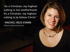 """Rachel Held Evans - """"A Year of Biblical Womanhood"""""""