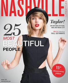 Cover of Taylor Swift for Nashville Lifestyles!