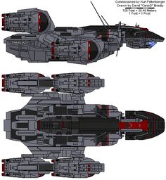 Prometheus ship illustration