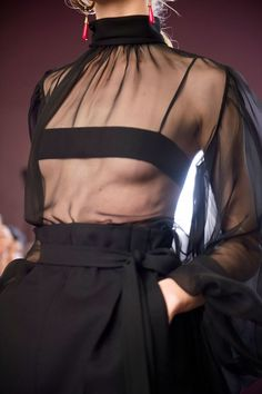 "Pinterest: Jonida Ripani |  Fall 2017 Couture ""Sheer"" Genius. – IN FASHION Daily"