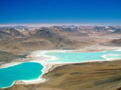 La laguna verde en Bolivia