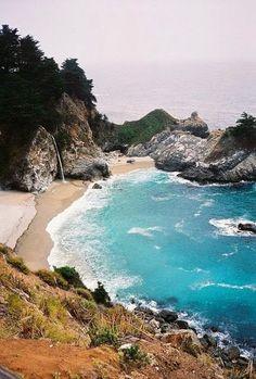 McWay Falls, Julia Pfeiffer Burns State Park, Big Sur, California >>> gorgeous!