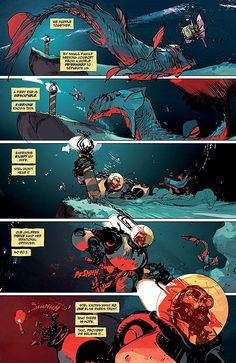 Low n°1. Art & cover by Greg Tocchini. Words by Rick Remender.