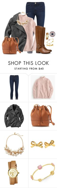 """It snowed for like, 10 minutes "" by margaretlorraine02 ❤ liked on Polyvore featuring moda, Frame Denim, J.Crew, Gap, Tory Burch, The Limited, Kate Spade, women's clothing, women's fashion ve women"