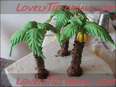 дерево, tree, strom, l'arbre, Baum, albero, árvore, árbol - Мастер-классы по украшению тортов Cake Decorating Tutorials (How To's) Tortas Paso a Paso
