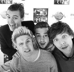 Harry, Niall, Liam, Louis.