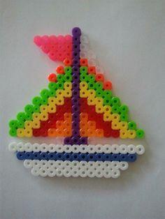 Sailboat perler beads by Jenna K. - Perler® | Gallery