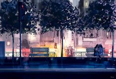 Pascal Campion: Our own little world Pascal Campion, Learning To Let Go, How To Make Comics, American Artists, Illustrations Posters, Amazing Art, Awesome, Illustration Art, Deviantart