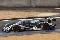 Le Mans Bentley, for Bentley's room