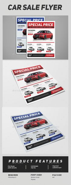 Auto Sales Flyer Template Car Sales Psd Flyer Template