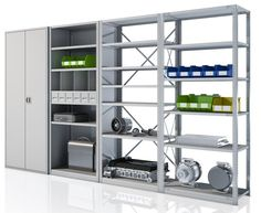 Metal Shelving Units For Garage Organization Systems Solutions