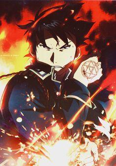 Roy Mustang   Fullmetal Alchemist Brotherhood   #FMAB   #Anime