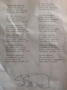 Ijsbeertjes, telversje - New Ideas Frozen, Winter Wonderland, Letters, Ideas, Penguins, Letter, Lettering, Thoughts, Calligraphy