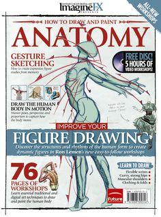 ImagineFX: How to Draw and Paint Anatomy Volume 2 by ClaireHowlett.deviantart.com on @DeviantArt