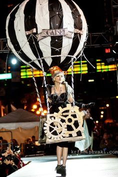 First Place Costume at HighBall Halloween\'s Costume Couture ...