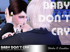 Sims 4 Updates: Studio K-Creation - Poses : Baby Don't Cry Couples Poses, Custom Content Download!