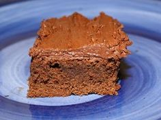 Frosted Fudge Brownies Recipe