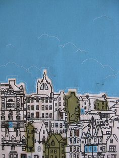 Edinburgh Skyline by Cassandraharrison, via Flickr
