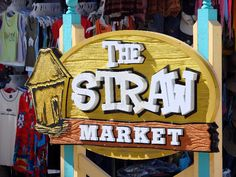 Nassau, Bahamas. The Straw Market. I as here in 06 can't beleave ill be back here with my wee family soo cheery