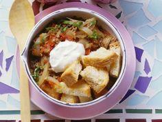 Türkische Brotsuppe ist ein Rezept mit frischen Zutaten aus der Kategorie Fleisch. Probieren Sie dieses und weitere Rezepte von EAT SMARTER!