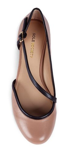 Nude flats @Pascale Lemay De Groof
