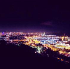 Barcelona skyline. city of dreams