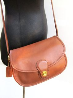 e2ac26cce260 Reserved for Kathleen - Vintage Coach // Prairie Bag // Saddle Bag //  British Tan Leather // // USA // Excellent Condition