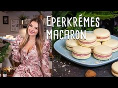 Eastern European Recipes, Macarons, Dresses With Sleeves, Youtube, France, Candy, Gowns With Sleeves, Macaroons, Youtube Movies