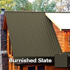 Metal Roof Accents - Burnished Slate