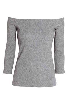 Off-the-shoulder top | H&M