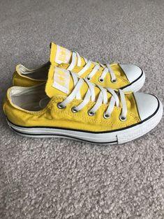 bad5ccf4da10f0 Yellow low cut Converse Chuck Taylors