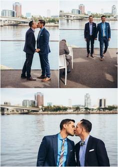 #twogrooms #gaywedding #queerwedding #samesexwedding #lgbtwedding #loveislove