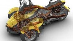 6823_20020751821.jpg    gizmag.com    530 × 298 - Can-Am Spyder roadster: three wheeled motorcycle. Image