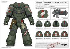 Paint Scheme, Primaris, Space Marines, Warhammer 40,000