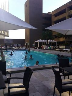 Bywater Pool Deck & Bar @ the Hyatt Regency New Orleans • FYI by Tina