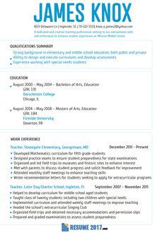 Resume 2018 Samples Usa Resumesamplesusa On Pinterest