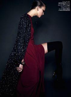 Karlie Kloss by Henrique Gendre for Vogue Brazil July 2014 8