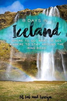 8 Day itinerary for Iceland's ring road! What to do, where to stay and what to eat in Iceland! Tons of helpful tips as well :) (Fast Metabolism Lost) Oh The Places You'll Go, Cool Places To Visit, Places To Travel, Iceland Travel Tips, Travel Europe, Iceland Adventures, Destinations, Voyage Europe, To Infinity And Beyond