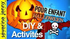 DIY Halloween + Deco & Activités pour enfant (français) Diy Halloween Room, Diy Francais, Decoration, Journal, Youtube, French Kids, Halloween Decorating Ideas, Fall Season, Paper